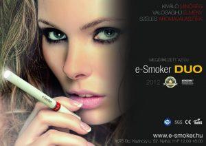 e-Smoker hirdetés 2012-ből